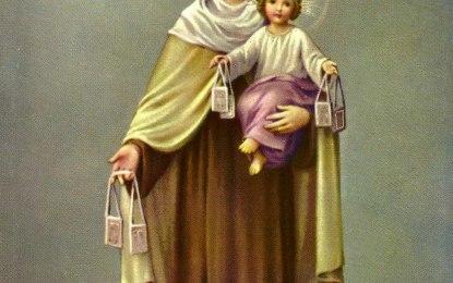 Breve Historia de la Devoción De La Virgen Del Carmen