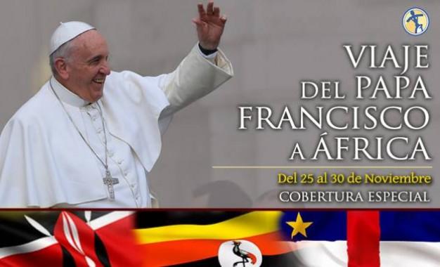 El primer viaje de Papa Francisco a África