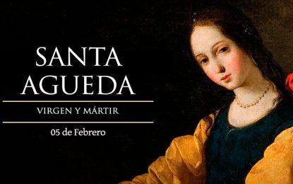 Santa Águeda de Catania, virgen y mártir