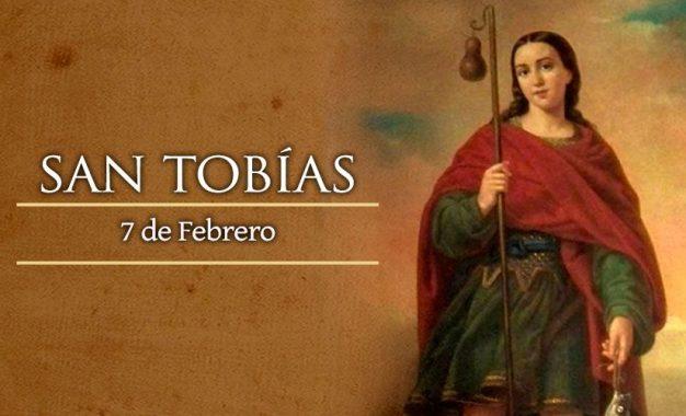 San Tobías, personaje bíblico asistido por el arcángel Rafael