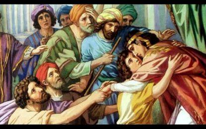 Del santo Evangelio según san Mateo 5, 20-26