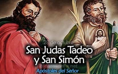 Lecturas de hoy San Simón y San Judas, apóstoles