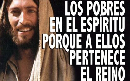 EVANGELIO DE HOY VIERNES 1 DE NOVIEMBRE