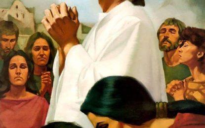 Lectura del santo evangelio según San Lucas (10,21-24):